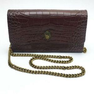 KURT GEIGER Kensington Leather Wallet on a Chain